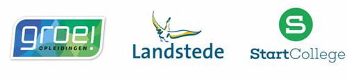 Logo's adult education part of Landstede Group